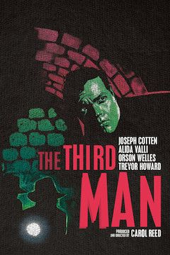 The Third Man movie poster.