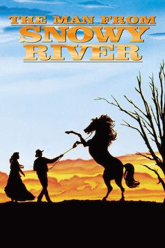 The Man From Snowy River movie poster.