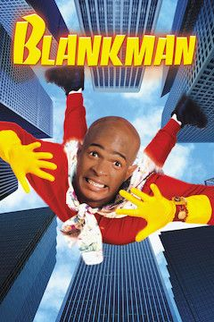 Poster for the movie Blankman