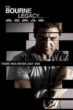 The Bourne Legacy movie poster.