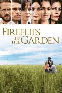 Fireflies in the Garden movie poster.