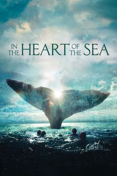 In the Heart of the Sea movie poster.