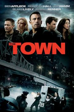 The Town movie poster.