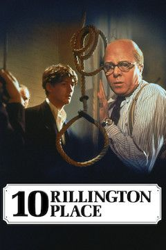 10 Rillington Place movie poster.