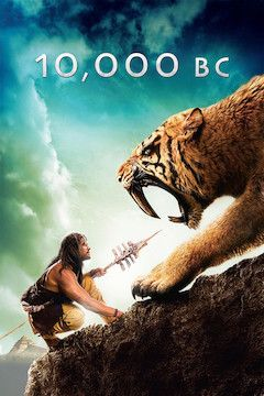 Poster for the movie 10,000 B.C.