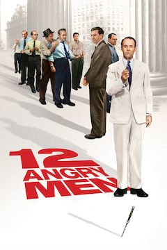 Twelve Angry Men movie poster.