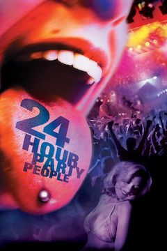24 Hour Party People movie poster.