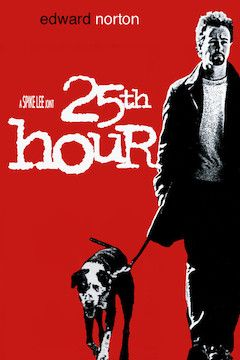 25th Hour movie poster.