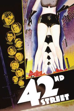Poster for the movie 42nd Street