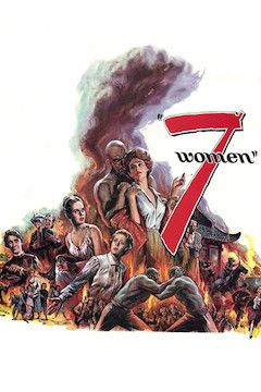 7 Women movie poster.