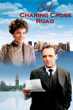 84 Charing Cross Road movie poster.