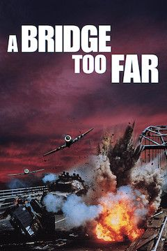 A Bridge Too Far movie poster.