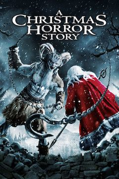 Poster for the movie A Christmas Horror Story