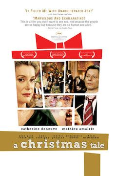 A Christmas Tale movie poster.