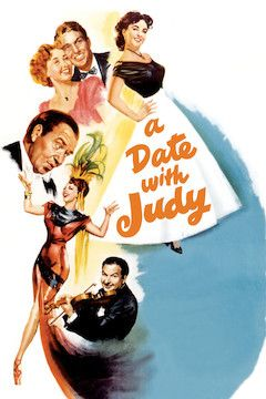 A Date With Judy movie poster.