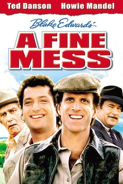 A Fine Mess movie poster.