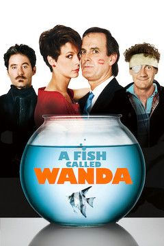 Poster for the movie A Fish Called Wanda