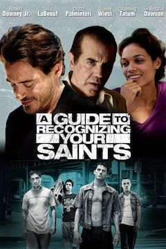 A Guide to Recognizing Your Saints movie poster.