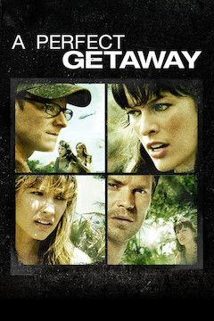 A Perfect Getaway movie poster.