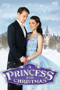 A Princess for Christmas movie poster.