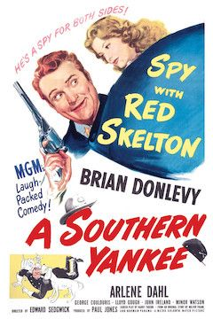 A Southern Yankee movie poster.