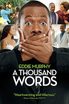 A Thousand Words movie poster.
