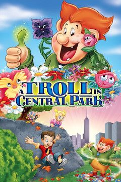 Poster for the movie A Troll in Central Park
