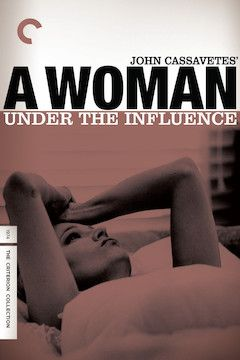 A Woman Under the Influence movie poster.
