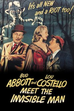 Abbott and Costello Meet the Invisible Man movie poster.
