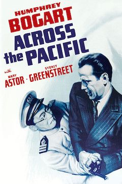 Across the Pacific movie poster.
