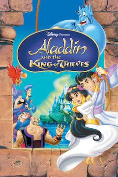 Poster for the movie Aladdin and the King of Thieves