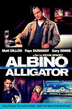 Albino Alligator movie poster.