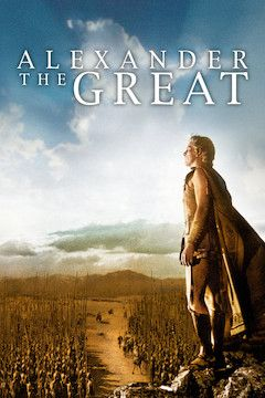 Alexander the Great movie poster.