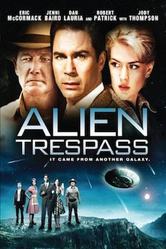 Poster for the movie Alien Trespass