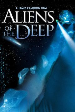 Aliens of the Deep movie poster.