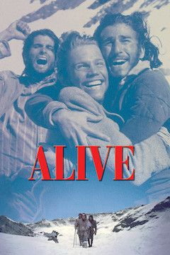 Alive movie poster.