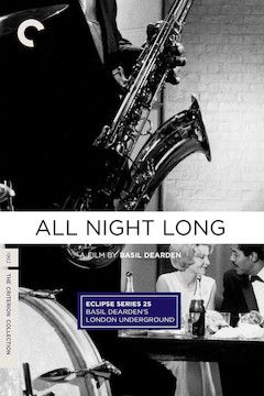 All Night Long movie poster.
