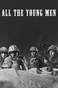 All the Young Men movie poster.