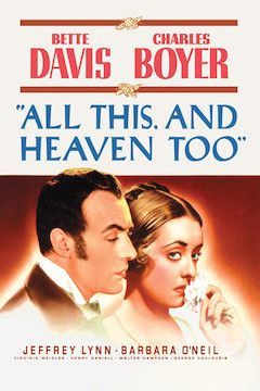 All This and Heaven Too movie poster.