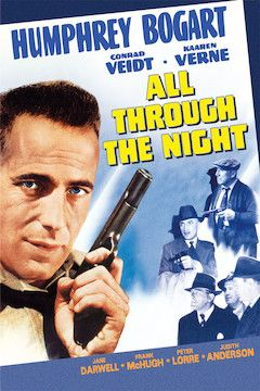 All Through the Night movie poster.