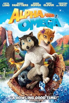 Alpha and Omega movie poster.