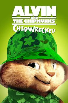 Alvin and the Chipmunks: Chipwrecked movie poster.
