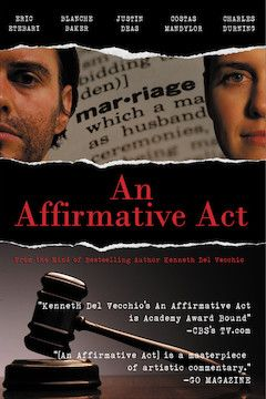 An Affirmative Act movie poster.
