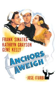 Anchors Aweigh movie poster.