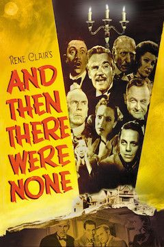 Poster for the movie And Then There Were None