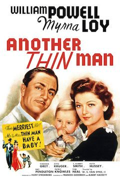 Another Thin Man movie poster.