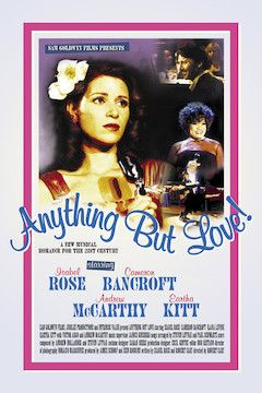 Anything But Love movie poster.