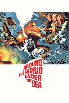 Around the World Under the Sea movie poster.