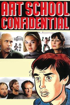 Art School Confidential movie poster.