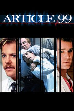 Article 99 movie poster.